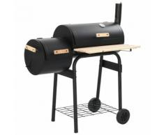 vidaXL Barbecue Classico Affumicatore a Carbonella