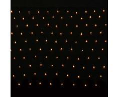 vidaXL Luci di Natale a LED luci di Natale rete 200 LED 3,2M x 1,5