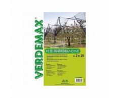 Verdemax RETE ANTIGRANDINE PER IL GIARDINO 2X20M