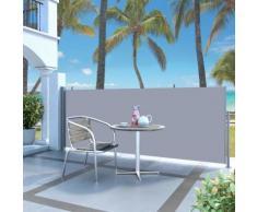 vidaXL Tenda da Sole Laterale Retrattile 120 x 300 cm Crema