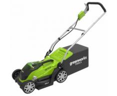 Greenworks Tosaerba G40LM35 con 2 Batterie 40V 2Ah 2501907UC