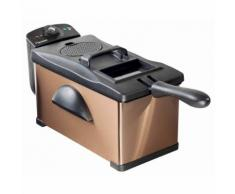 Bestron Friggitrice con Tecnologia Cool Zone Rame 3,5 L 2000 W