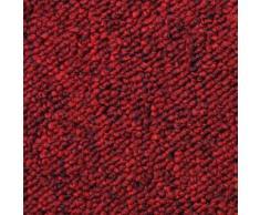 MonsterShop 20 Quadrotte di Moquette 50x50cm Colore Rosso Scarlatto 5mq