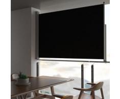 vidaXL Tenda da Sole Laterale Retrattile 160 x 300 cm Nera