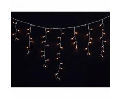 vidaXL Luci di Natale a Ghiaccioli 3,9 m