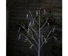 Kaemingk Luci di Natale ALBERO a LED bianco caldo 1,8m