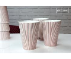 6 tazze Teli in stile nordico