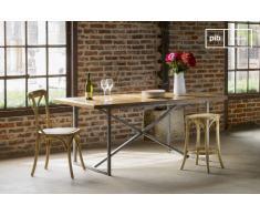 Tavolo da pranzo Queens in stile vintage