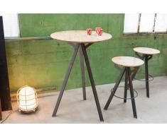Tavolino Jetson in stile vintage