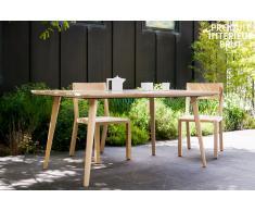 Tavolo in legno acquista tavoli in legno online su livingo - Tavoli da birreria 220x80 ...
