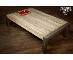 Tavolino in legno riciclato