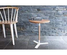Tavolino Ninféa in stile nordico
