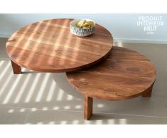 Tavolino da salotto Stockholm con doppio ripiano