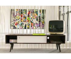 Mobile TV Brown and White in stile nordico