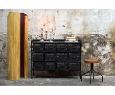 Cassettiera da 12 cassetti in stile vintage