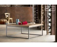 Tavolino Queens in stile industriale