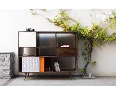 Credenza alta Londress in stile nordico