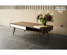 Tavolino da salotto Brown White