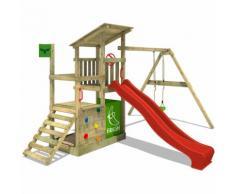 Parco giochi FATMOOSE FruityForest Fun XXL con SuperSwing Giochi da giardino, set da Gioco