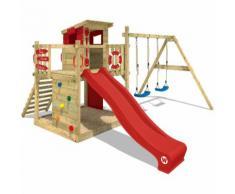 Parco giochi WICKEY Smart Camp Giochi per giardino con altalena, area gioco