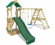 Parco giochi WICKEY StarFlyer Gioco da giardino con arrampicata, set da Gioco