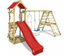 Parco giochi WICKEY StarFlyer Gioco da giardino con arrampicata, area gioco