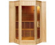 Sauna Finlandese per 4 persone in Legno SMERALDA 200x175