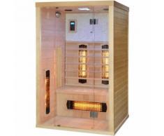 Sauna Infrarossi WELLNESS per 2 persone 120x110