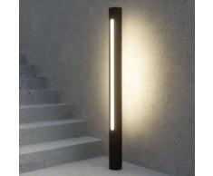 Lampioncino a LED Tomas grigio scuro
