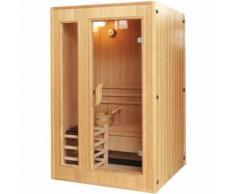 Sauna Finlandese TOP in Legno per 3 persone 153x110