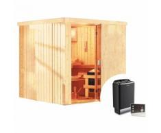 Sauna Finlandese Tradizionale Mirva - Con Stufa 9 Kw E Pannello Di Controllo Esterno