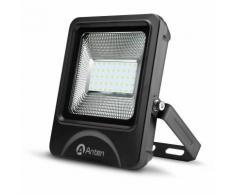 10 × Proiettore Luce LED Faretto Per Esterno 30W 3600LM SMD 3030 Impermeabile IP66 Bianco 6000K Per