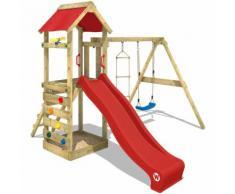 Parco giochi WICKEY FreeFlyer Gioco da giardino in legno, area gioco