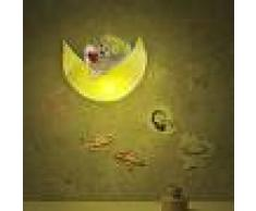 Linea Zero Illuminazione Moon Lampadario Sospensione Cameretta Bimbi Luna