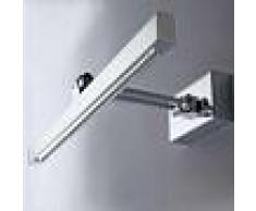 Illuminando Applique il-vega p led 5w 357lm metallo cromo lampada parete bagno specchio