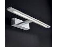 Illuminando Applique il-tango 12w led 1190lm metallo cromo lampada parete bagno specchio