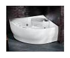 Novellini vasca da bagno idromassaggio angolare serie sense