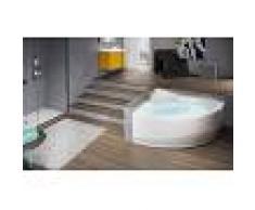 Novellini vasca da bagno angolare semicircolare serie una