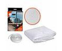 Zanzariera per finestra resistente fissaggio in velcro adesivo varie dimensioni disponibili