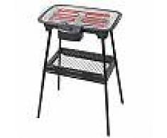 Barbecue elettrico 2000w base removibile da tavolo raccogli grasso e mensola