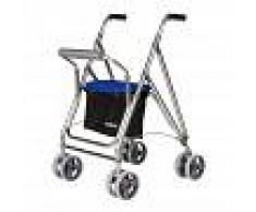 FABRICAC. ORTOPEDICAS ALBACETE,S.L.FORTA Girello Di Aluminio, Modello Kanguro Hd, Colore: Blu