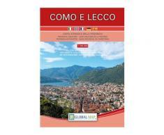 Como-Lecco. Carta stradale della provincia 1:100.000 (cm 62,5x74,0)