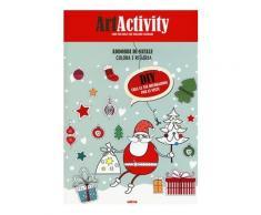 Art activity. Colora e ritaglia i tuoi addobbi di Natale