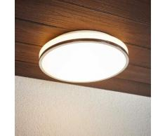 Lyss - lampada LED da soffitto per bagno cromata