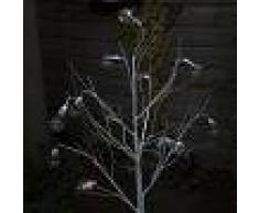 Kaemingk Luci di Natale ALBERO a LED bianco caldo 1,25m
