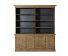 Maisons du Monde Piattaia a 4 ante e 6 scaffali in legno di pino riciclato Spinoza
