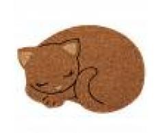 Maisons du Monde Zerbino gatto in fibra di cocco, 48x34 cm