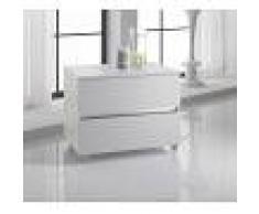 TFT Home Furniture Cassettiera Bali Twist bianca
