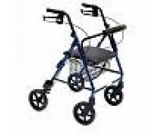 Girello per disabili pieghevole Wimed Rolly Alu