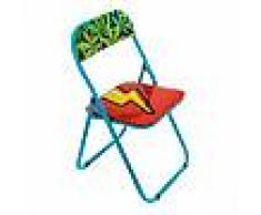 SELETTI sedia pieghevole FOLDING CHAIR STUDIO JOB-BLOW (Flash - Metallo e PVC)